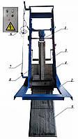 Решетка механическая грабельная рейкового типа РГР-500 (канал 600х900)