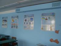 Оформление школьных кабинетов по самой низкой цене.