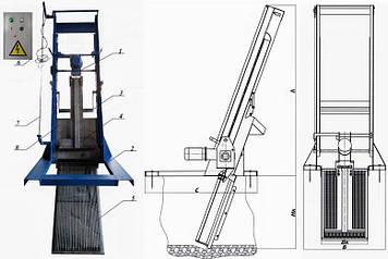 Решетка механическая грабельная рейкового типа РГР-200 (канал 450х600), фото 2