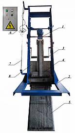 Решетка механическая грабельная рейкового типа РГР-100 (канал 300х600)