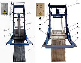 Решетка механическая грабельная рейкового типа РГР, решетка канализационная, решетка ручная