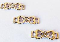 Металлофурнитура  декор  13264  золото
