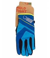 Перчатки Green Cycle NC-2576-2015 WindStop с закрытыми пальцами L синие