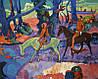 «Таити. Брод», копия картины Поля Гогена картина маслом