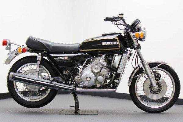 Suzuki RE5 (1976) - мотоцикл с роторным двигателем