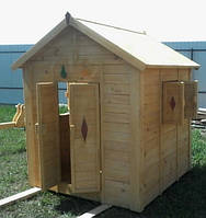Детский домик из дерева Шале-1, фото 1
