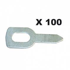 Gys 100 прямых колец для вытягивания