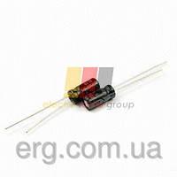 Конденсатор электролитический     560 мкФ х 200В (размер 25x35)