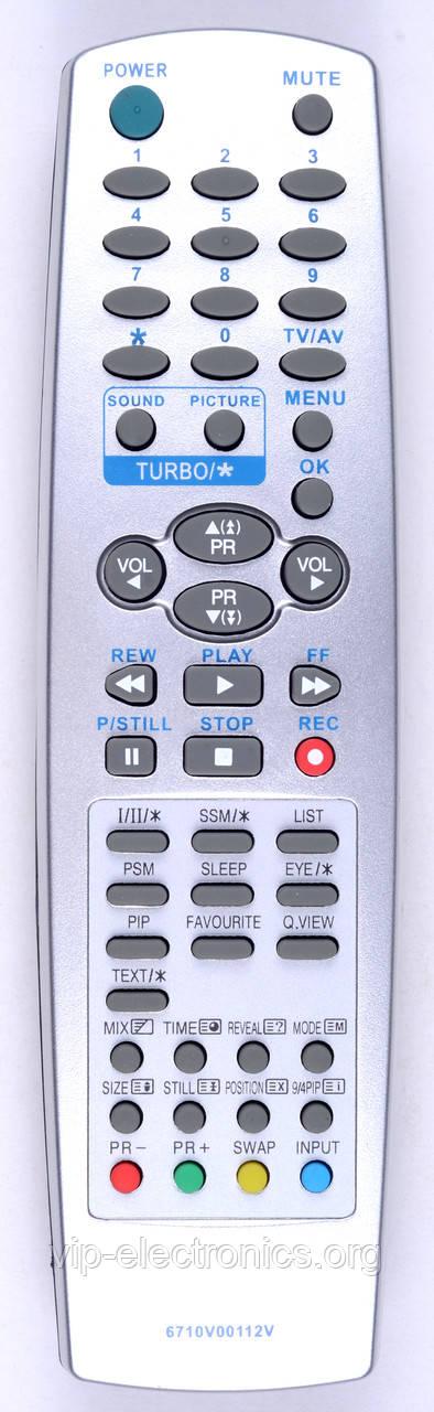 Пульт LG 6710V00112V (TV) (CE)
