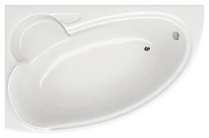 Акриловая ванна асимметричная Bliss Belina 170x110 левосторонняя, фото 2