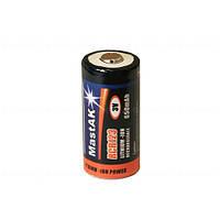 Аккумулятор литиевый Li-Ion CR123A/16340 3V (650mAh)