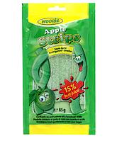 Кислые желейные конфеты - палочки с яблочным вкусом Woogie, 85 гр.
