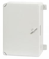 Пластиковый щит с монтажной панелью IP65 влагозащищенный 250 х 350 х 150 мм непрозрачная дверца