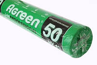 Агроволокно Agreen черное (50 г/м2, 1,6х100 м), фото 1