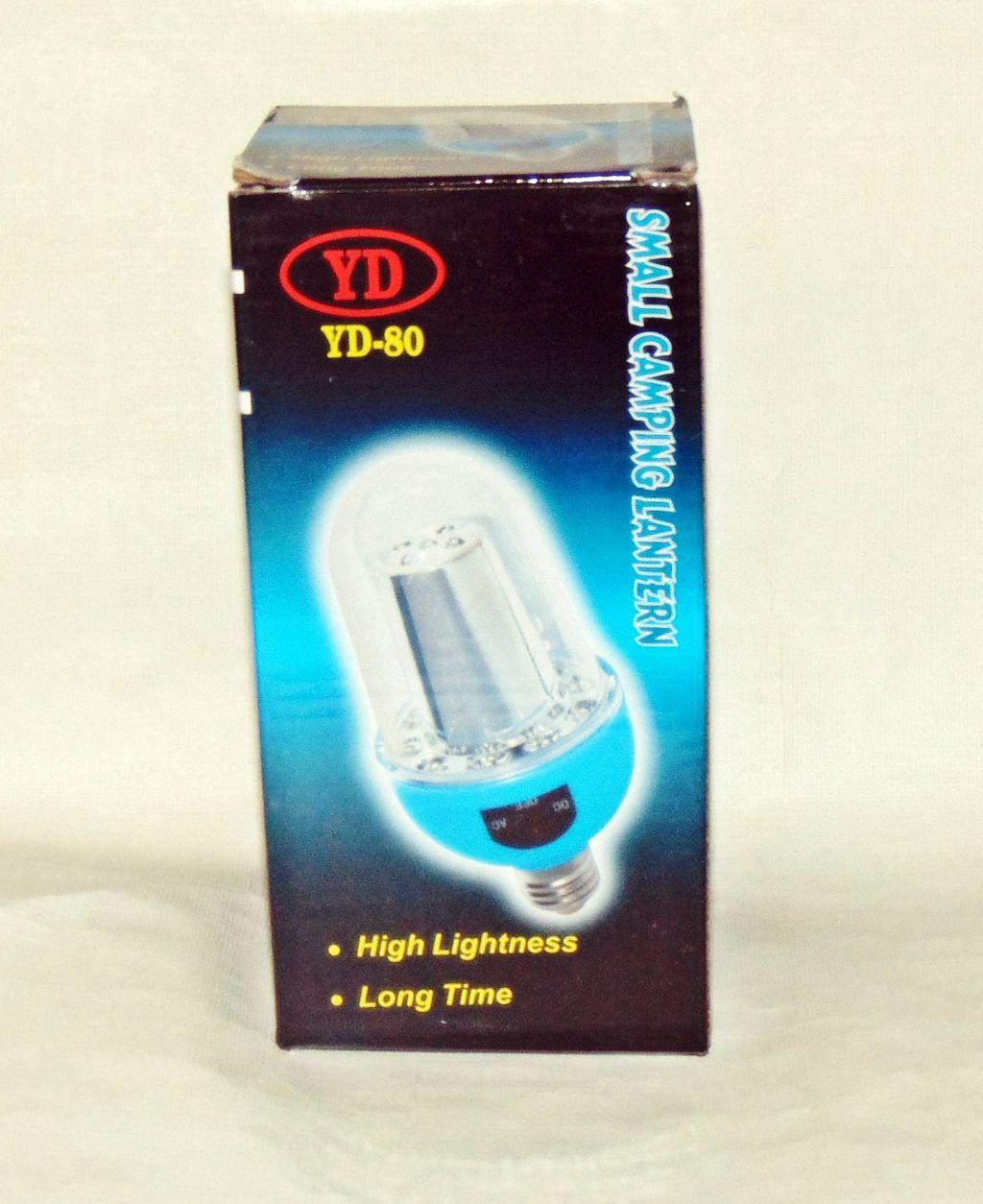 Фонарь лампа аккумуляторная YD-80
