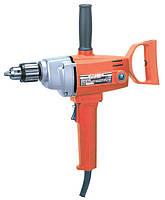 Электрический миксер-дрель (1швидкисть), 1100Вт, 800об/мин, дерево/сталь-35/13мм AGP EV21.