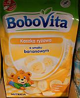 Детская рисовая каша со вкусом банана с 4 месяцев BoboVita 180 гр