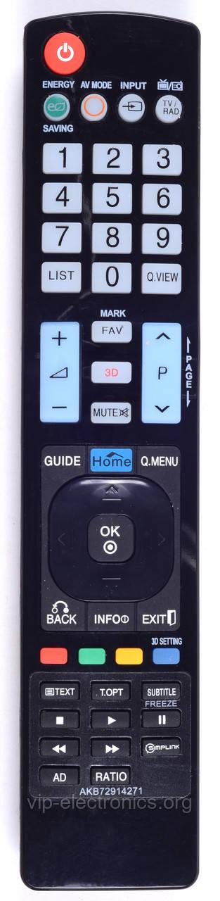 Пульт LG AKB72914271 (LED 3D TV) (CE)