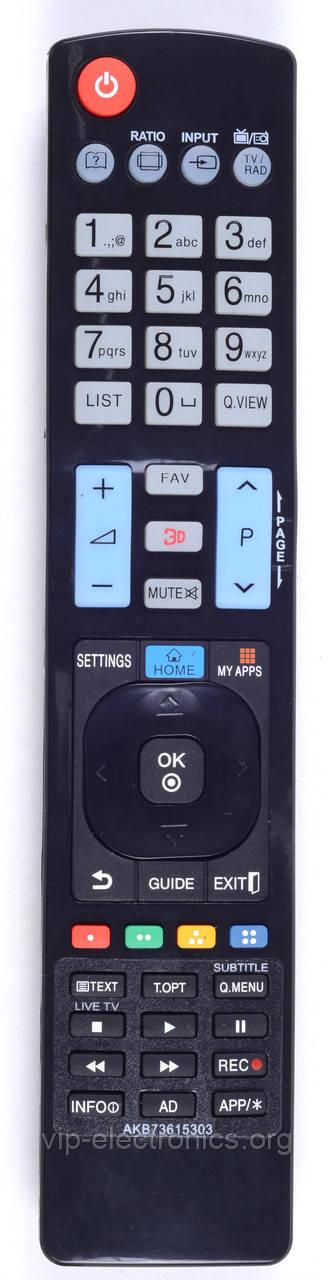 Пульт LG AKB73615303  (LED TV) (CE)