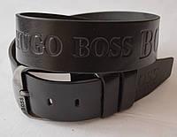 Кожаный мужской ремень HUGO BOSS