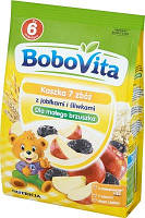 Детская рисовая каша со вкусом яблока и сливы с 6 месяцев BoboVita 180 гр