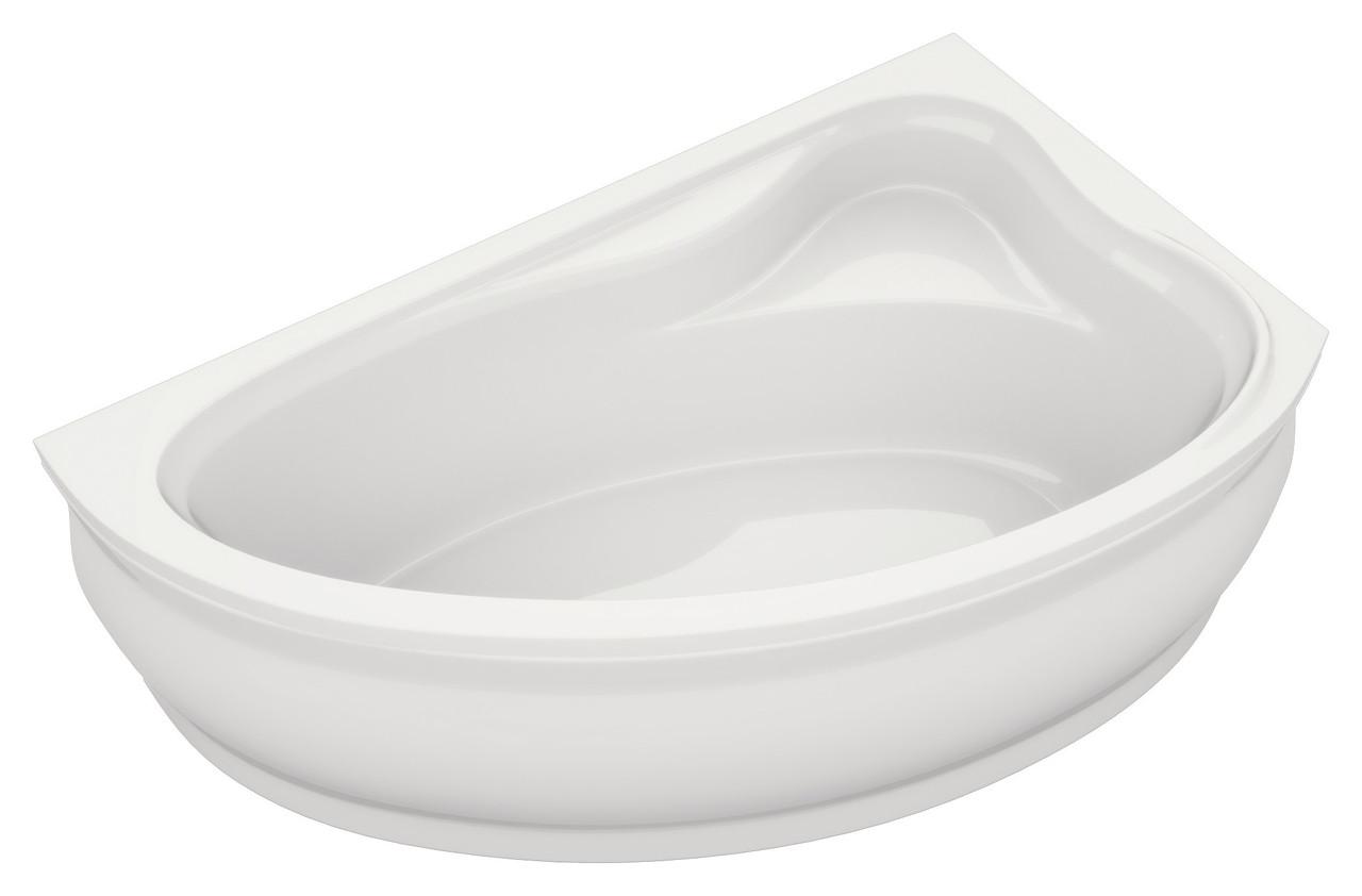 Акриловая ванна асимметричная Bliss Fabia 160x100 правосторонняя