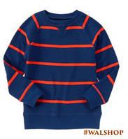 Детский пуловер в полоску Crazy8 Stripe Pullover M7/8
