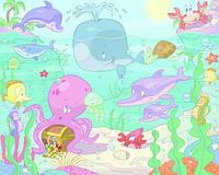 Фотообои для детской Подводный мир Бейби