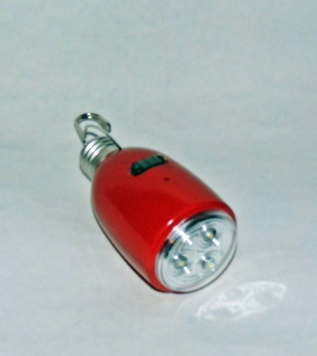 Лампа аварийная 6873 3 LED  Е27