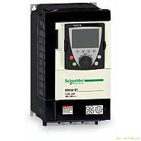 ATV61HU22N4  Преобразователь частоты ATV61 2.2кВт 380В