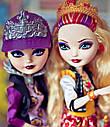 Набір ляльок Ever After High Рейвен і Еппл (Apple and Raven) з серії School Spirit Школа Довго і Щасливо, фото 8