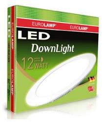 Светильник круглый LED 12W Eurolamp