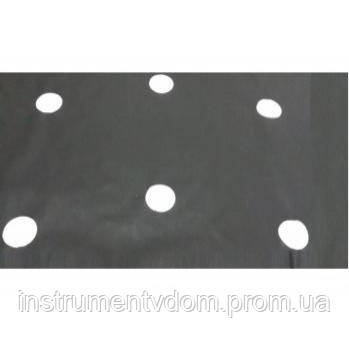Агроволокно Agreen черное с перфорацией (50 г/м2, 1,07х100 м)
