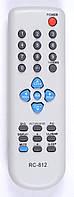 Пульт Meredian RC-812 (TV) (CE) корп. Daewoo 40A01