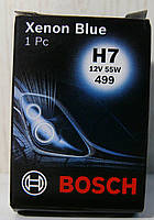Лампа накаливания H7 12V 55W PX26d Xenon Blue (пр-во Bosch)