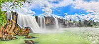 Водопад на кафеле Панно, плитка 20х30см.