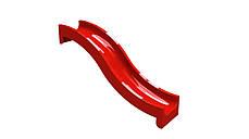 Спуск для гірки скло пластиковий 2,8 м, H-1,2 м., фото 3