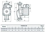 Циркуляционный насос Sprut LRS 25–6S–130, фото 3