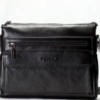 Деловая мужская сумка Fendi (F619-417 black)