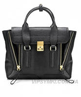 Женская сумка в стиле PHILLIP LIM LARGE PASHLI BLACK (6485), фото 1