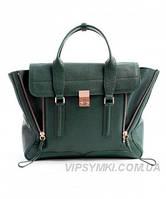 Женская сумка 3.1 PHILLIP LIM MEDIUM PASHLI NAVY GREEN (6420), фото 1