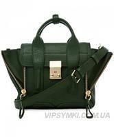 Женская сумка 3.1 PHILLIP LIM MINI PASHLI GREEN (6405), фото 1