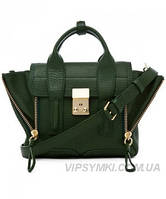 Женская сумка в стиле PHILLIP LIM MINI PASHLI GREEN (6405), фото 1