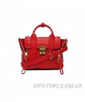 Женская сумка 3.1 PHILLIP LIM MINI PASHLI RED (6415), фото 1