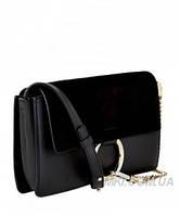 Женская сумка в стиле CHLOE FAYE CROSS-BODY BAG BLACK (2069), фото 1