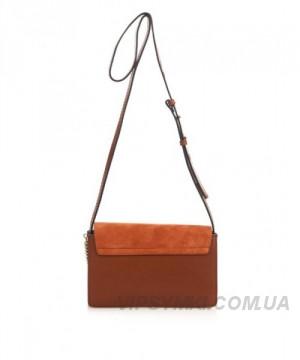 4f37cd014bcd Женская сумка CHLOE FAYE CROSS-BODY BAG BROWN (2075), цена 5 730 грн.,  купить в Киеве — Prom.ua (ID#247254339)