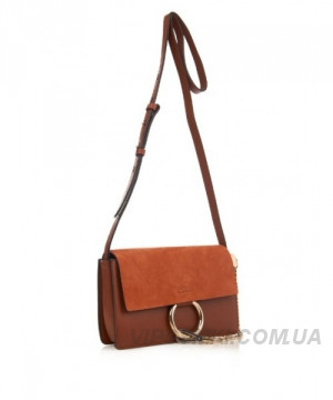 f0a06decf6d9 Женская сумка CHLOE FAYE CROSS-BODY BAG BROWN (2075), цена 5 730 грн ...