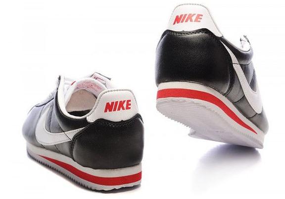 Кроссовки мужские Nike Cortez черного цвета с белым
