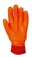 Рукавички утеплені ПВХ з манжетою, фото 1