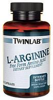 L-аргинин twinlab 120 капс США